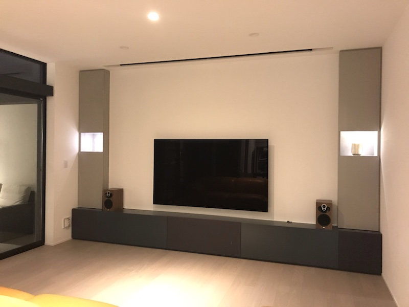 web内覧会 (3) TVボード&ホームシアター