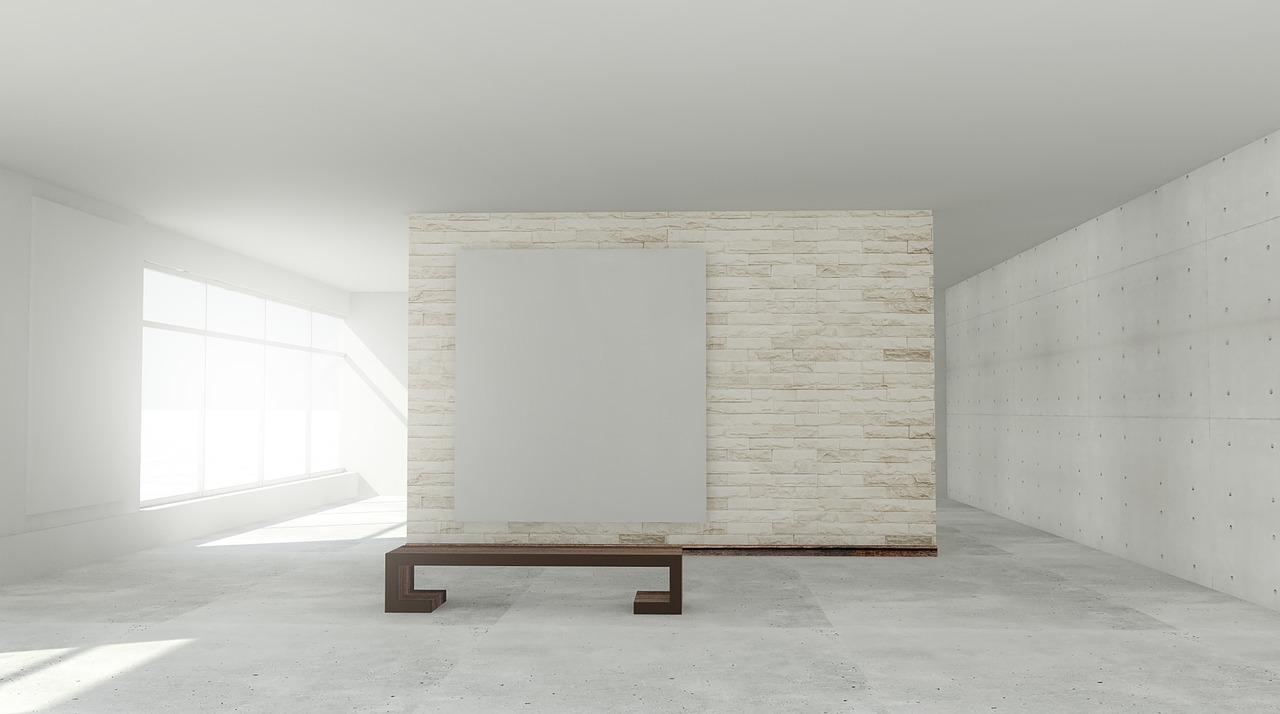 モダンなリビングの床材はタイルかフローリングか