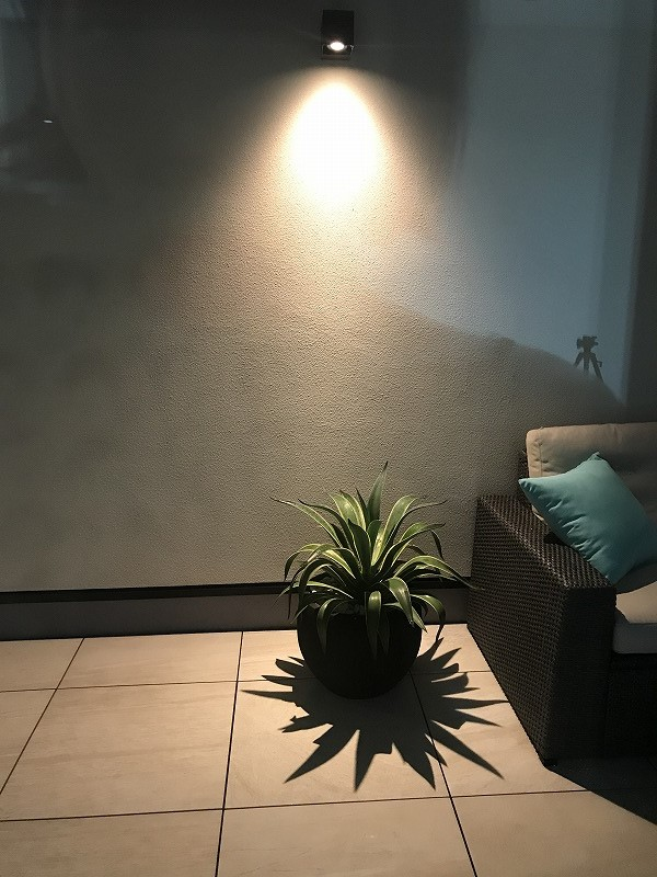 modern balcony lighting